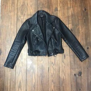 Bebe Fuax Leather
